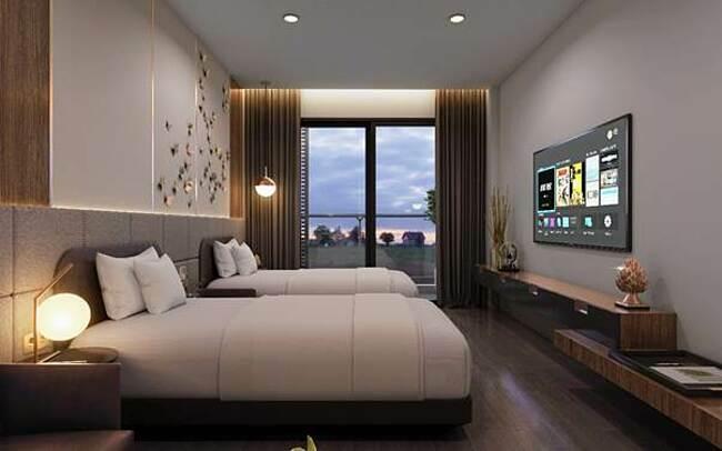 Căn hộ khách sạn 5 sao cao cấp tại Apec Mandala Wyndham Hải Dương.