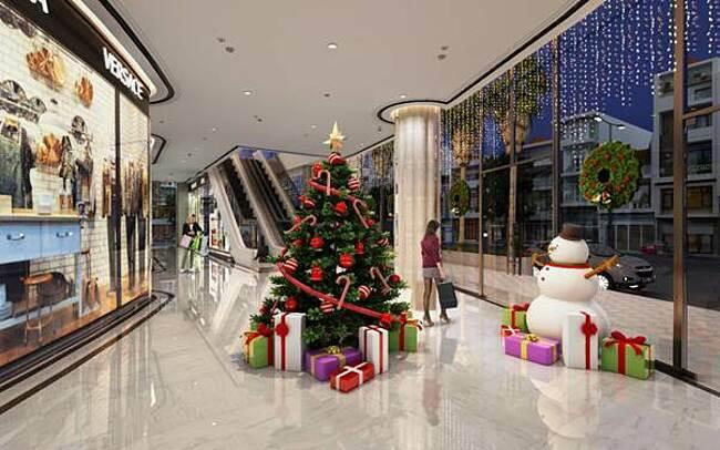 Trung tâm thương mại Apec Center.